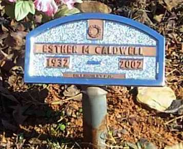 FORD CALDWELL, ESTHER M - Polk County, Arkansas | ESTHER M FORD CALDWELL - Arkansas Gravestone Photos