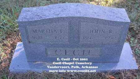 CECIL, MARTHA ETTA - Polk County, Arkansas | MARTHA ETTA CECIL - Arkansas Gravestone Photos