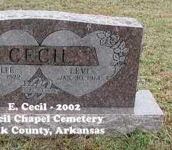 CECIL, LEVI OREN - Polk County, Arkansas | LEVI OREN CECIL - Arkansas Gravestone Photos
