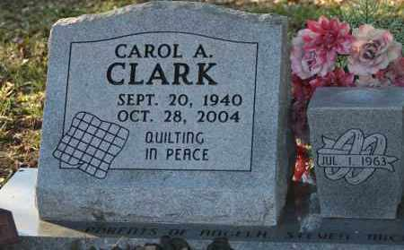 CLARK, CAROL A. - Polk County, Arkansas | CAROL A. CLARK - Arkansas Gravestone Photos