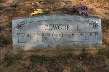 COWGUR, LAYMON MONROE - Polk County, Arkansas | LAYMON MONROE COWGUR - Arkansas Gravestone Photos