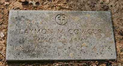 COWGUR (VETERAN), LAYMON M - Polk County, Arkansas | LAYMON M COWGUR (VETERAN) - Arkansas Gravestone Photos