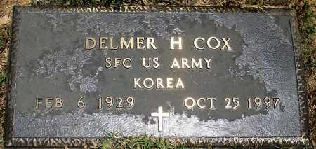 COX (VETERAN KOR), DELMER H - Polk County, Arkansas | DELMER H COX (VETERAN KOR) - Arkansas Gravestone Photos