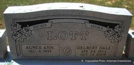 LOTT, DELBERT DALE - Polk County, Arkansas | DELBERT DALE LOTT - Arkansas Gravestone Photos