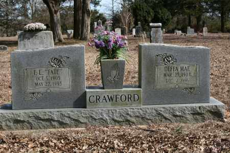 CRAWFORD, DEFFA MAE - Polk County, Arkansas | DEFFA MAE CRAWFORD - Arkansas Gravestone Photos