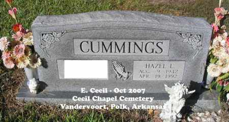 CUMMINGS, HAZEL L. - Polk County, Arkansas | HAZEL L. CUMMINGS - Arkansas Gravestone Photos