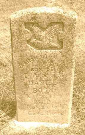 DANIEL, AARON ANDREW - Polk County, Arkansas | AARON ANDREW DANIEL - Arkansas Gravestone Photos