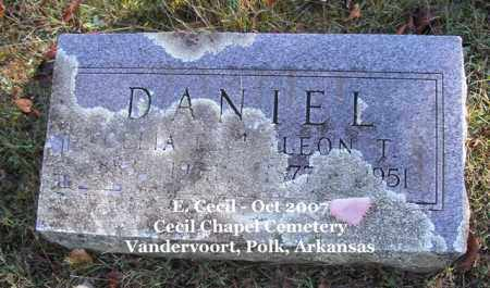 DANIEL, CELIA E. - Polk County, Arkansas | CELIA E. DANIEL - Arkansas Gravestone Photos
