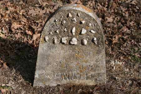 DAVIS, JAMES R. - Polk County, Arkansas | JAMES R. DAVIS - Arkansas Gravestone Photos