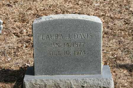 DAVIS, LAURA J. - Polk County, Arkansas | LAURA J. DAVIS - Arkansas Gravestone Photos