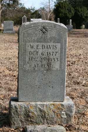 DAVIS, W.E. - Polk County, Arkansas | W.E. DAVIS - Arkansas Gravestone Photos