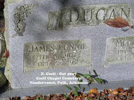 DUGAN, JAMES LONNIE - Polk County, Arkansas | JAMES LONNIE DUGAN - Arkansas Gravestone Photos