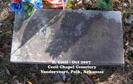 "DUGAN (VETERAN WWII), JOHN LESTER ""BUD"" - Polk County, Arkansas | JOHN LESTER ""BUD"" DUGAN (VETERAN WWII) - Arkansas Gravestone Photos"
