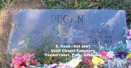 DUGAN, FRED WESLEY - Polk County, Arkansas | FRED WESLEY DUGAN - Arkansas Gravestone Photos