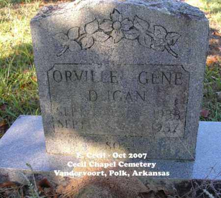 DUGAN, ORVILLE GENE - Polk County, Arkansas | ORVILLE GENE DUGAN - Arkansas Gravestone Photos