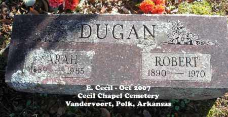 DUGAN, SARAH - Polk County, Arkansas | SARAH DUGAN - Arkansas Gravestone Photos