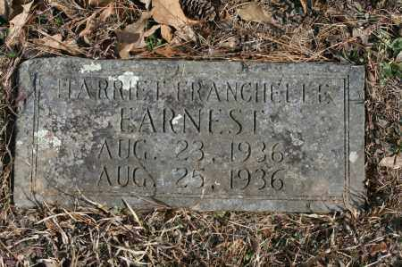 EARNEST, HARRIET FRANCHELLE - Polk County, Arkansas | HARRIET FRANCHELLE EARNEST - Arkansas Gravestone Photos