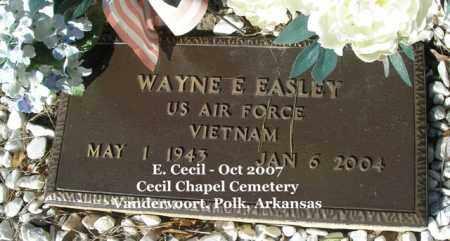 EASLEY (VETERAN VIET), WAYNE E - Polk County, Arkansas | WAYNE E EASLEY (VETERAN VIET) - Arkansas Gravestone Photos