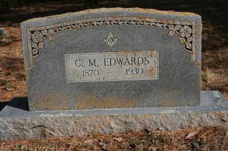 EDWARDS, CHARLES M - Polk County, Arkansas | CHARLES M EDWARDS - Arkansas Gravestone Photos