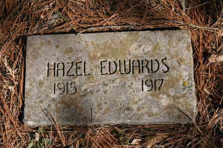 EDWARDS, HAZEL - Polk County, Arkansas | HAZEL EDWARDS - Arkansas Gravestone Photos