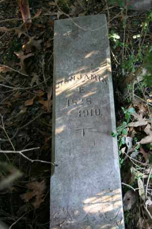 EVANS, BENJAMIN E. - Polk County, Arkansas | BENJAMIN E. EVANS - Arkansas Gravestone Photos