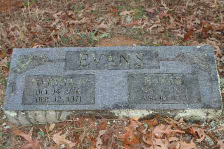 EVANS, MARTHA V. - Polk County, Arkansas | MARTHA V. EVANS - Arkansas Gravestone Photos