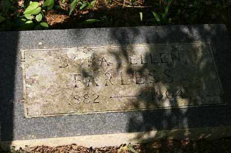 FARLESS, DORA ELLEN - Polk County, Arkansas | DORA ELLEN FARLESS - Arkansas Gravestone Photos