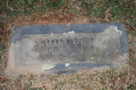 FARRIS, LETITIA - Polk County, Arkansas | LETITIA FARRIS - Arkansas Gravestone Photos