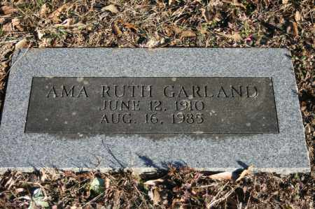 GARLAND, AMA RUTH - Polk County, Arkansas | AMA RUTH GARLAND - Arkansas Gravestone Photos