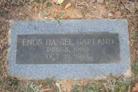 GARLAND, ENOS DANIEL - Polk County, Arkansas | ENOS DANIEL GARLAND - Arkansas Gravestone Photos