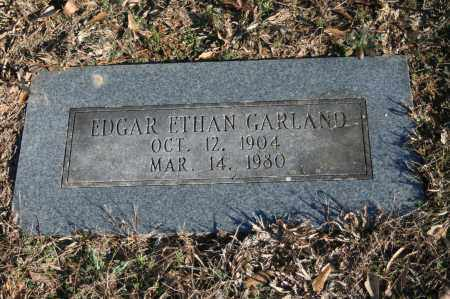 GARLAND, EDGAR ETHAN - Polk County, Arkansas | EDGAR ETHAN GARLAND - Arkansas Gravestone Photos