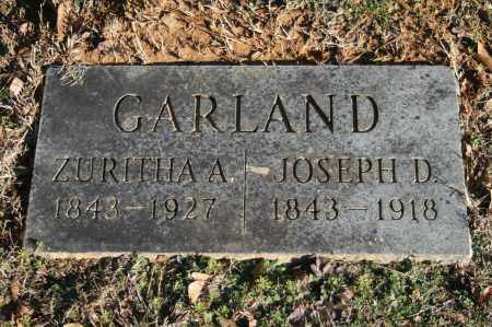 GARLAND, ZURITHA A. - Polk County, Arkansas | ZURITHA A. GARLAND - Arkansas Gravestone Photos