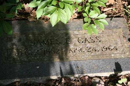 GASS, JAMES E. - Polk County, Arkansas | JAMES E. GASS - Arkansas Gravestone Photos