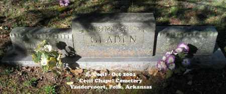 GLADEN, RIGHT - Polk County, Arkansas | RIGHT GLADEN - Arkansas Gravestone Photos