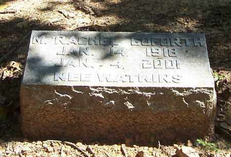 GOFORTH, M. RACHEL - Polk County, Arkansas | M. RACHEL GOFORTH - Arkansas Gravestone Photos