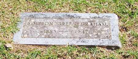 GRAHAM, SIMPSON GREEN - Polk County, Arkansas | SIMPSON GREEN GRAHAM - Arkansas Gravestone Photos