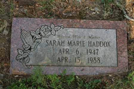 HADDOX, SARAH MARIE - Polk County, Arkansas | SARAH MARIE HADDOX - Arkansas Gravestone Photos