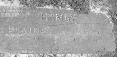FRIED HAMBY, EULA J. - Polk County, Arkansas | EULA J. FRIED HAMBY - Arkansas Gravestone Photos