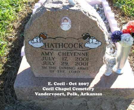 HATHCOCK, AMY CHEYENNE - Polk County, Arkansas | AMY CHEYENNE HATHCOCK - Arkansas Gravestone Photos