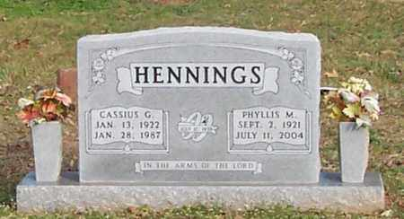 HENNINGS, CASSIUS G. - Polk County, Arkansas | CASSIUS G. HENNINGS - Arkansas Gravestone Photos