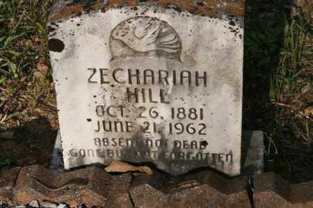 HILL, ZECHARIAH - Polk County, Arkansas | ZECHARIAH HILL - Arkansas Gravestone Photos