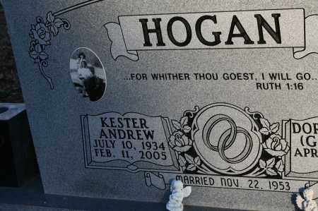 HOGAN, KESTER ANDREW - Polk County, Arkansas | KESTER ANDREW HOGAN - Arkansas Gravestone Photos