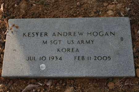 HOGAN (VETERAN KOR), KESTER ANDREW - Polk County, Arkansas | KESTER ANDREW HOGAN (VETERAN KOR) - Arkansas Gravestone Photos