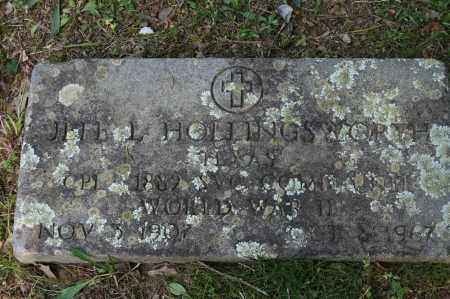 HOLLINGSWORTH  (VETERAN WWII), JEFF L - Polk County, Arkansas | JEFF L HOLLINGSWORTH  (VETERAN WWII) - Arkansas Gravestone Photos