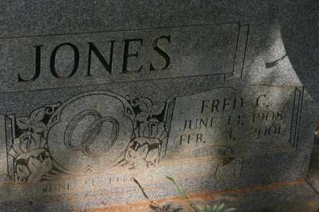 JONES, FRED C - Polk County, Arkansas | FRED C JONES - Arkansas Gravestone Photos