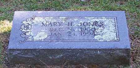 JONES, MARY H. - Polk County, Arkansas | MARY H. JONES - Arkansas Gravestone Photos