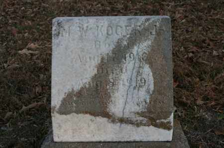 KOGER, M.W. - Polk County, Arkansas | M.W. KOGER - Arkansas Gravestone Photos