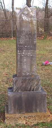 LAMBERT, ISABEL - Polk County, Arkansas   ISABEL LAMBERT - Arkansas Gravestone Photos