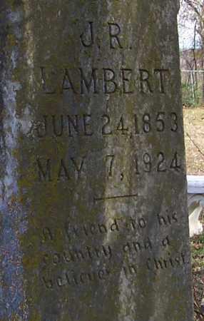 LAMBERT, J.R. - Polk County, Arkansas | J.R. LAMBERT - Arkansas Gravestone Photos