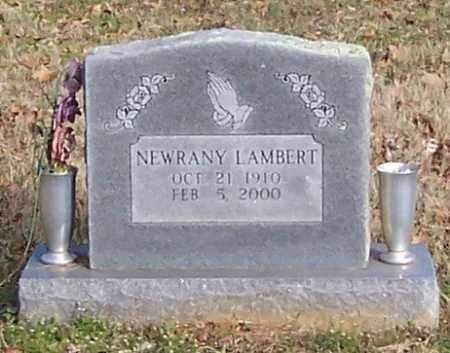 LAMBERT, NEWRANY - Polk County, Arkansas | NEWRANY LAMBERT - Arkansas Gravestone Photos